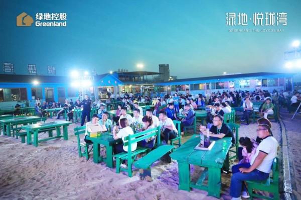 绿地悦珑湾实景拍摄