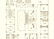 黄城天街1-3层平面图